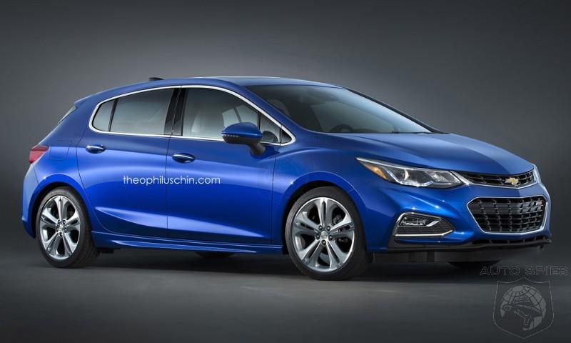 2017 Chevrolet Cruze Hatchback Rendering Autospies Auto News