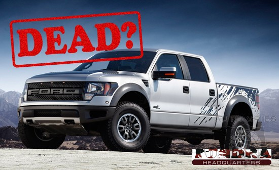 Ford F-150 SVT Raptor Future Clouded – Discontinued?