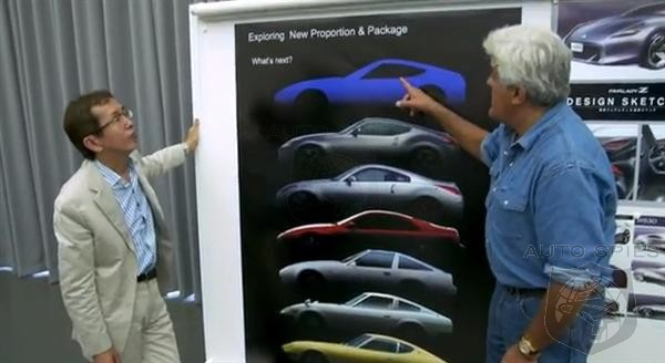 Nissan Teases 2014 Fairlady Z With Jay Leno