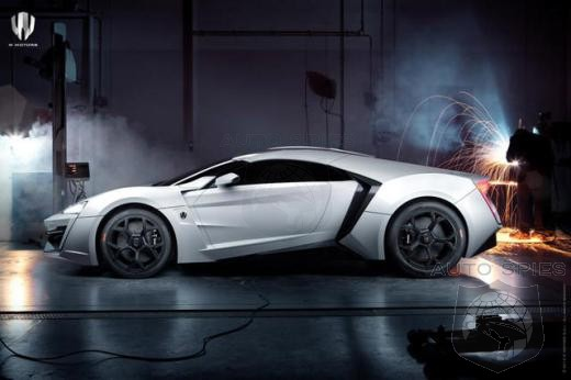 Meet the first Arab supercar – W Motors Lykan Hypersport