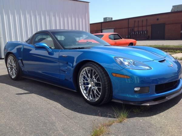 2015 Chevrolet Corvette ZR1 Final 638 - the last of all C6s