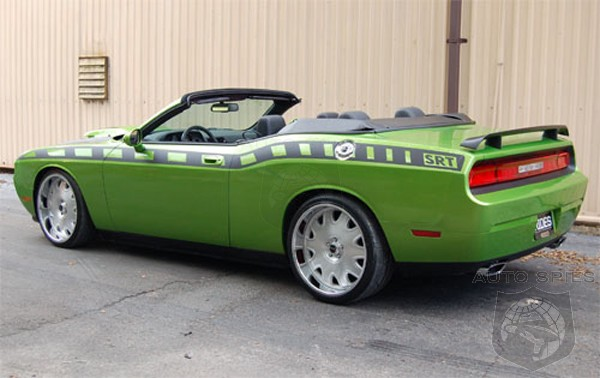 Dodge Challenger Convertible >> 2009 Dodge Challenger Convertible To Debut At Sema
