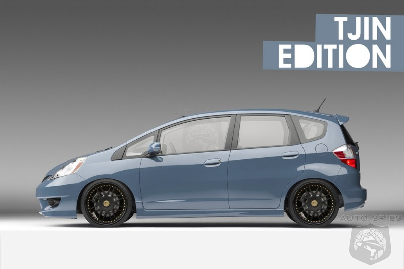 2009 Honda Fit. 2009 Honda Fit Tjin Edition to