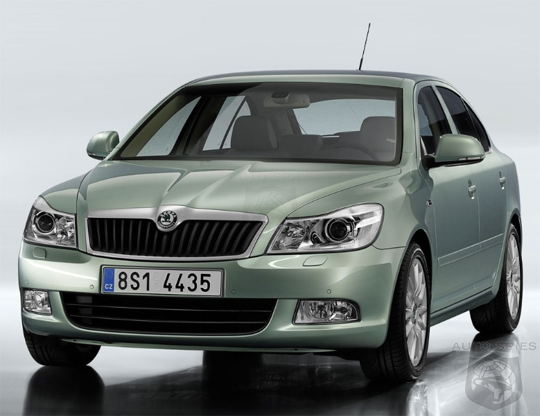 New Skoda Octavia 2009. among Škoda vehicles.