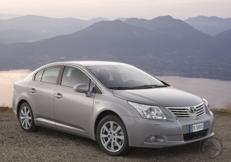 2009 Toyota Avensis U.K. pricing announced