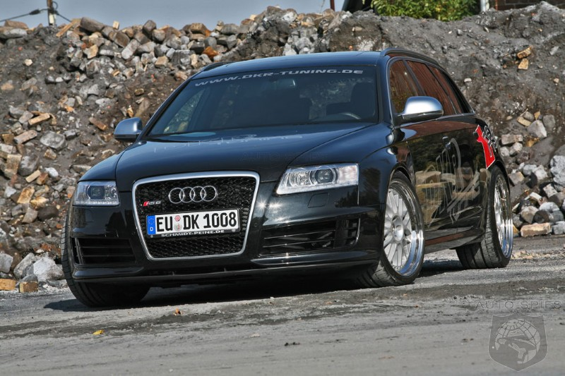 2008 Audi RS6 Avant by DKR Tuning
