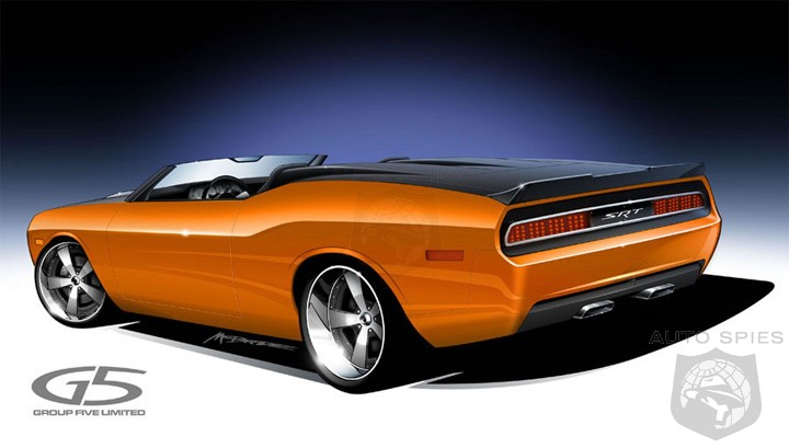 Dodge Challenger SRT8 Speedster coming to SEMA Show - AutoSpies Auto