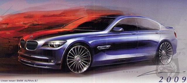 Alpina B6 GT3 and B7 coming to Geneva Motor Show