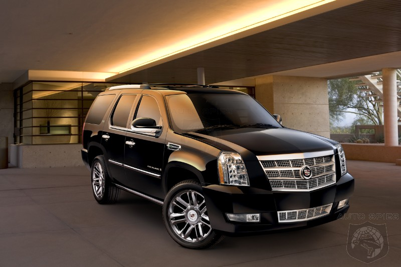 2009 Cadillac Escalade Platinum Hybrid Revealed