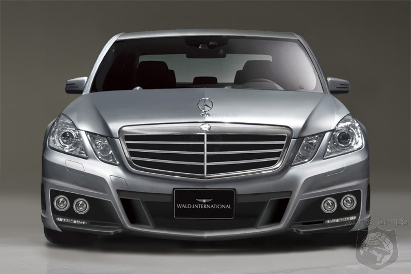 preview 2010 mercedes benz e class by wald international. Black Bedroom Furniture Sets. Home Design Ideas