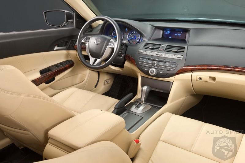 2010 Honda Accord Crosstour Interior Revealed Autospies