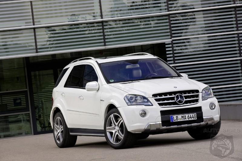 2010 Mercedes Benz Ml63 Amg Receives Minor Facelift