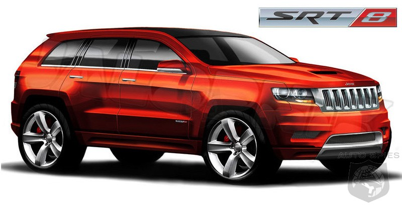 Jeep Grand Cherokee. Jeep Grand Cherokee SRT8.