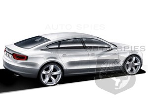 Audi A5 Sportback coming to the Frankfurt Motor Show