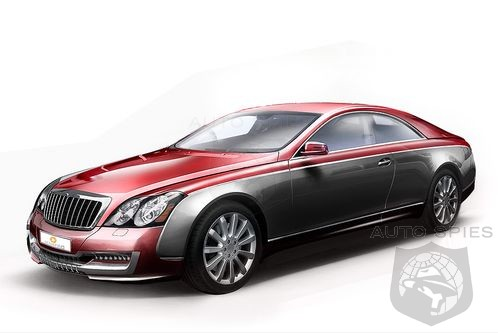 Maybach 57 S. Maybach 57S Coupe to be build