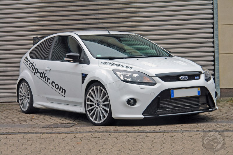 Ford Focus Rs Receives 400 Hp From Mcchip Dkr