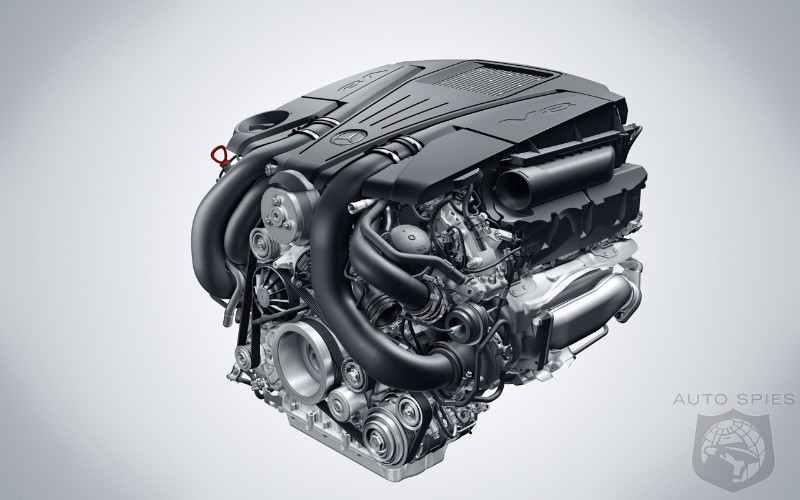 Official Mercedes Benz Unveils New V6 And V8 Engines