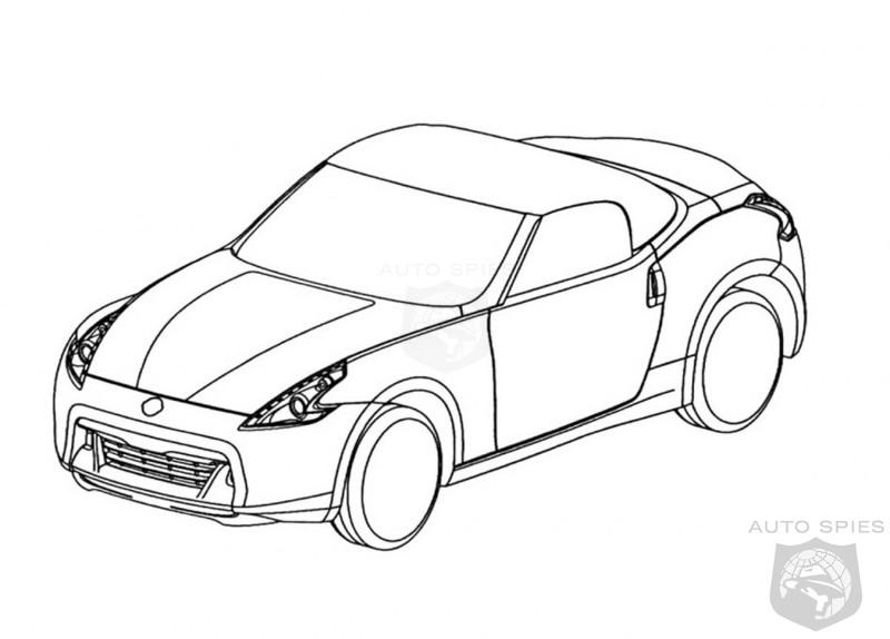 Nissan 370z Roadster Sketches Revealed