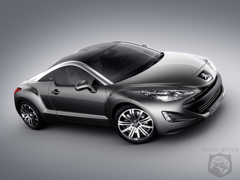 Peugeot 308 RC Z, a.k.a. Audi TT competitor coming in 2010