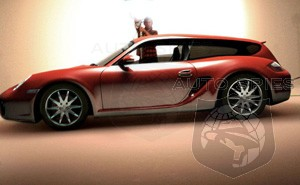 Porsche preparing shooting brake version of Cayman