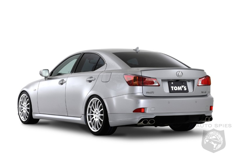Tom's IS45 based on the Lexus IS350 - AutoSpies Auto News