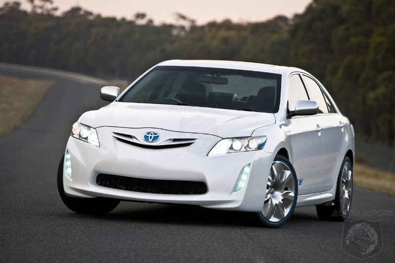 Toyota HC-CV (Hybrid Camry Concept Vehicle) makes its debut in Melbourne