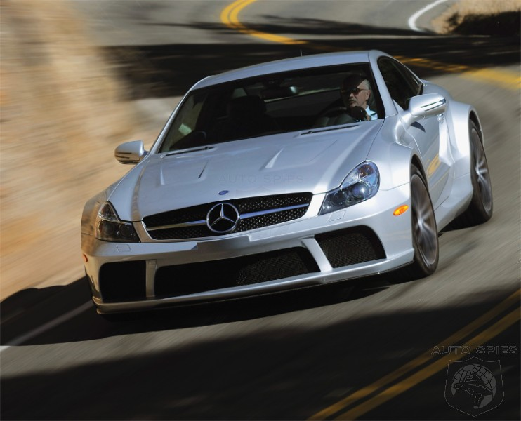 are apt descriptions of the new Mercedes-Benz SL 65 AMG Black Series.