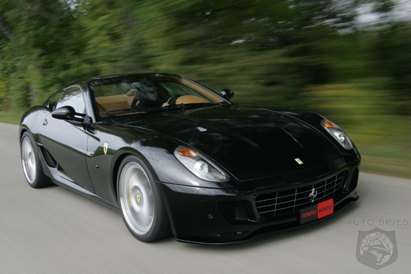 novitec rosso 599 gtb based on the ferrari 599 gtb fiorano. Black Bedroom Furniture Sets. Home Design Ideas