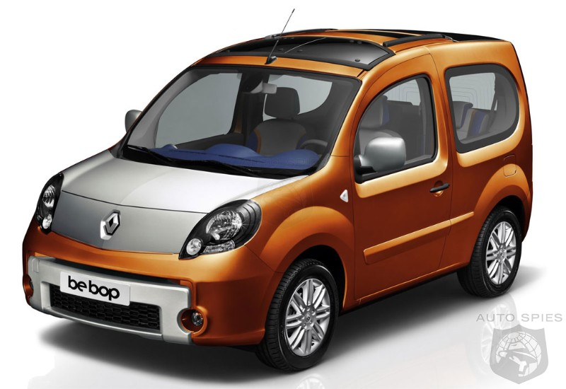 renault kangoo be bop to be unveiled at paris motor show autospies auto news. Black Bedroom Furniture Sets. Home Design Ideas