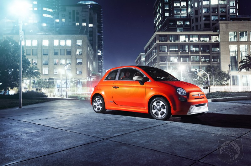 Fiat 500 electric will be available only in the United States