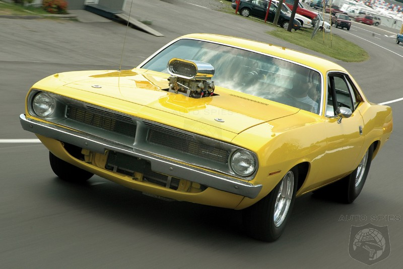 Chrysler Considering The Revival Of Barracuda Muscle Car