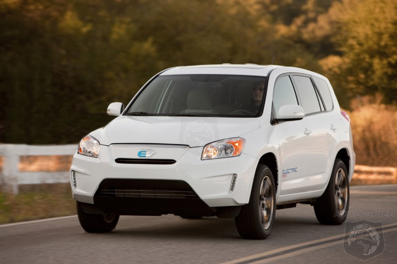 Toyota Betting On Low Cost Tesla Battery To Make Profit From Rav4 Ev
