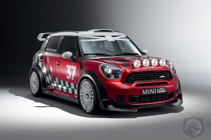 2011 Mini Countryman Wrc The Safest Rally Car Says Bmw