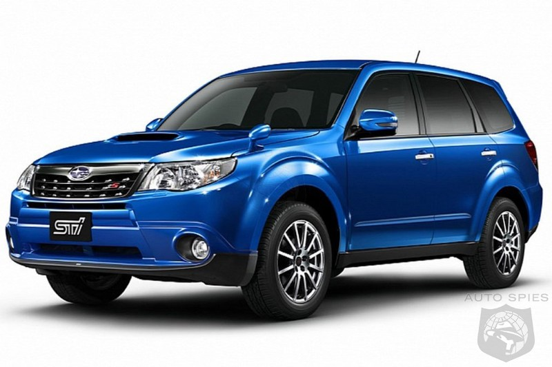 Subaru introduces sporty Forester STI Ts