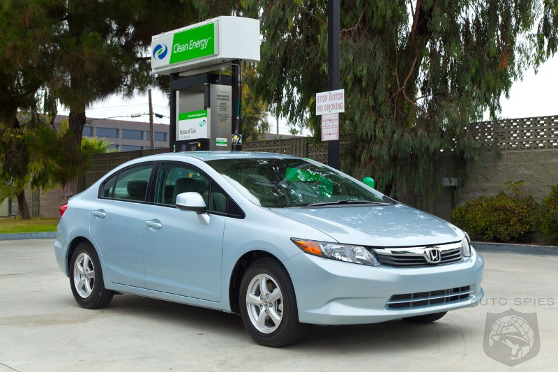 Honda dangles $3,000 gift card to buyers of natural gas Civic