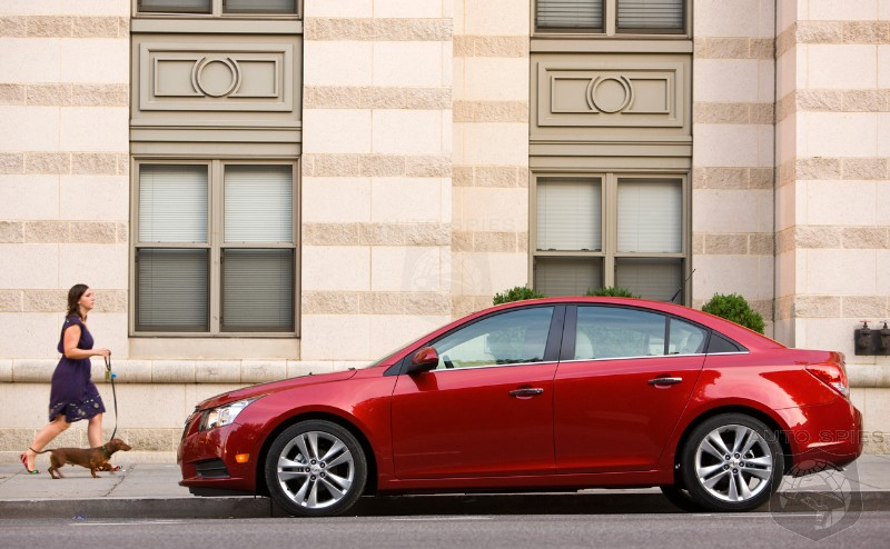 Diesel-powered Chevrolet Cruze will be unveiled in Chicago this week