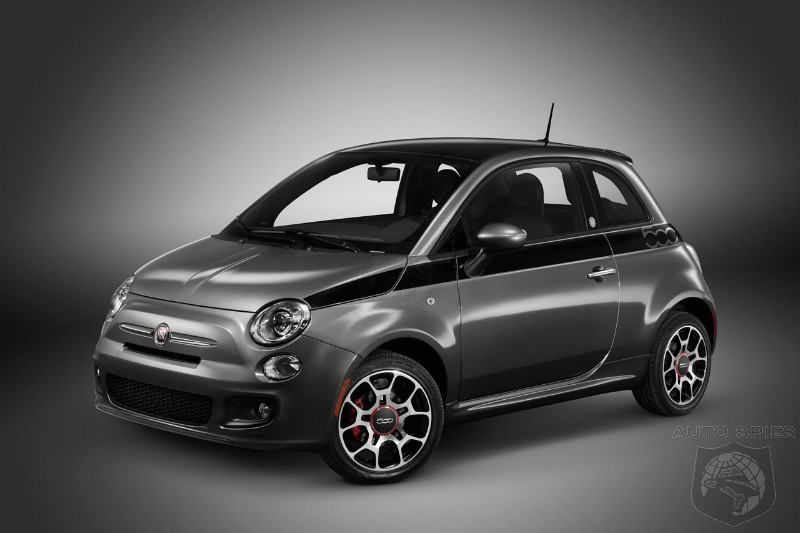 Fiat 500 shows poor sales in the United States