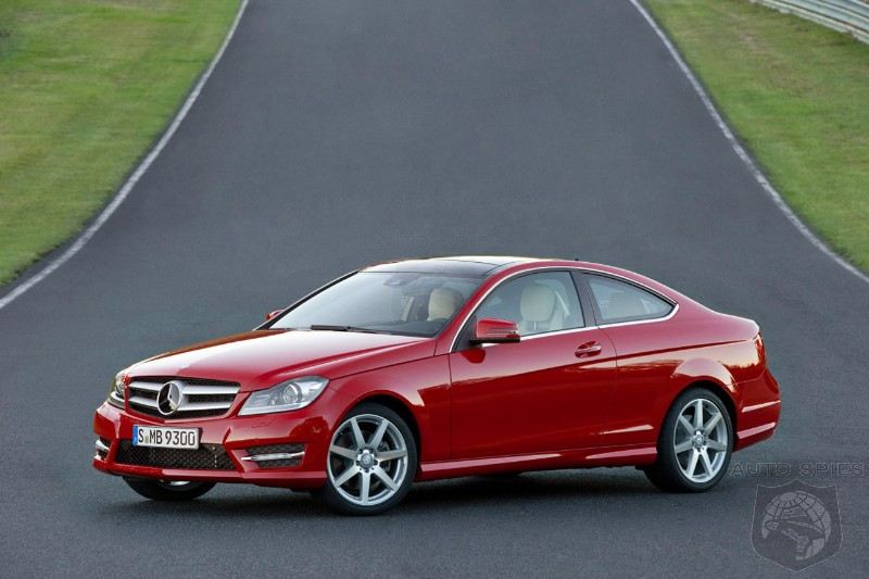 sales start for the 2012 mercedes benz c class coupe autospies auto news. Black Bedroom Furniture Sets. Home Design Ideas