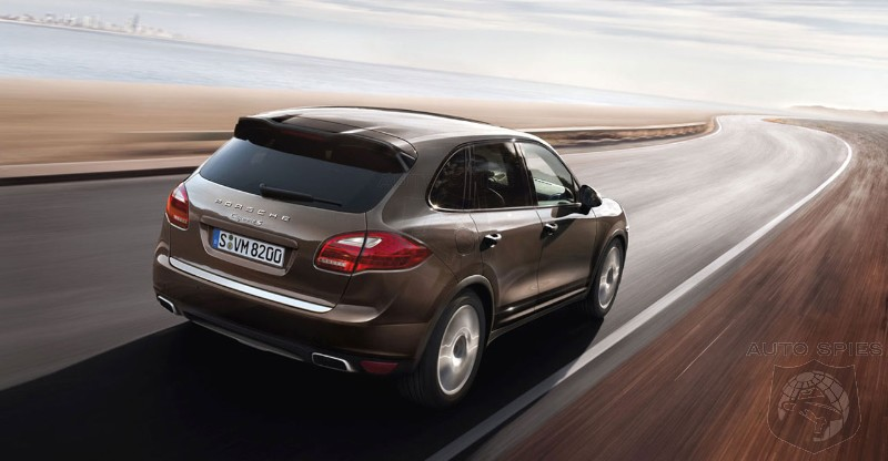 Report: Porsche working on the Cayenne e-Hybrid