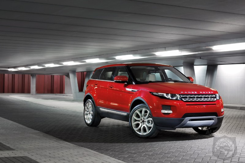 Range Rover Working On A New Small Crossover To Take On