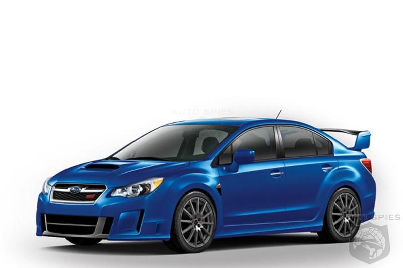 2012 Subaru Impreza WRX STI - AutoSpies Auto News