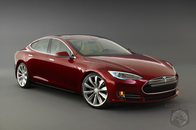 2013 Tesla Model S rated by EPA at 95 MPGe