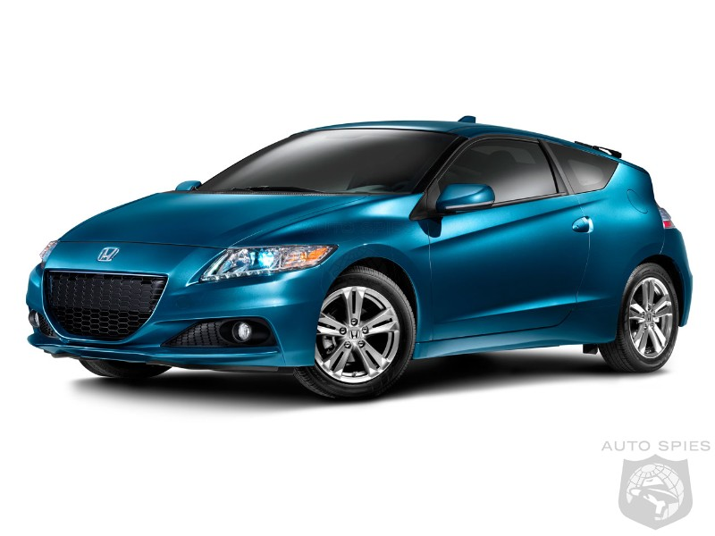 Honda CR-Z more powerful for the 2013MY