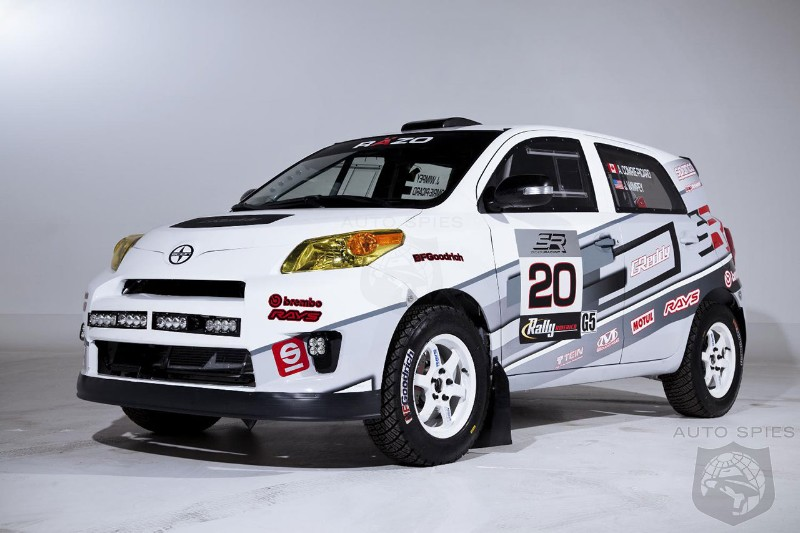 Scion prepares for 2013 Rally America National Championship with new car