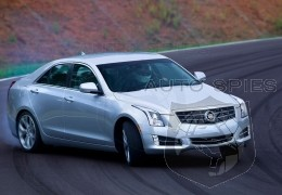 2013 Cadillac ATS EPA-rated at 19/28 MPG