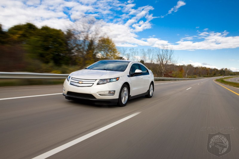 Chevrolet Volt owner uses just 26 gallons of fuel to travel 12,000 miles