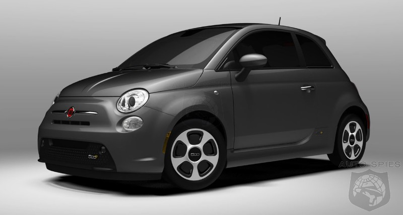 Fiat 500e EPA-rated at 115 MPGe
