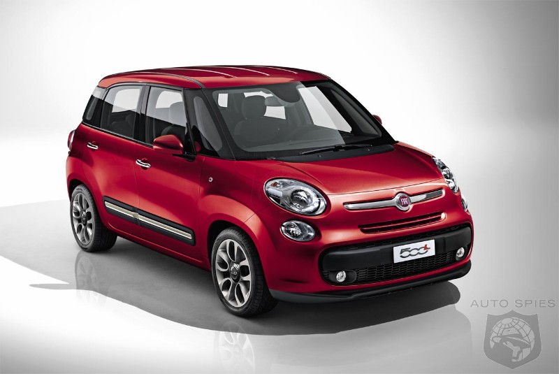Fiat 500l Breaks Ready To Take On Mini Cooper