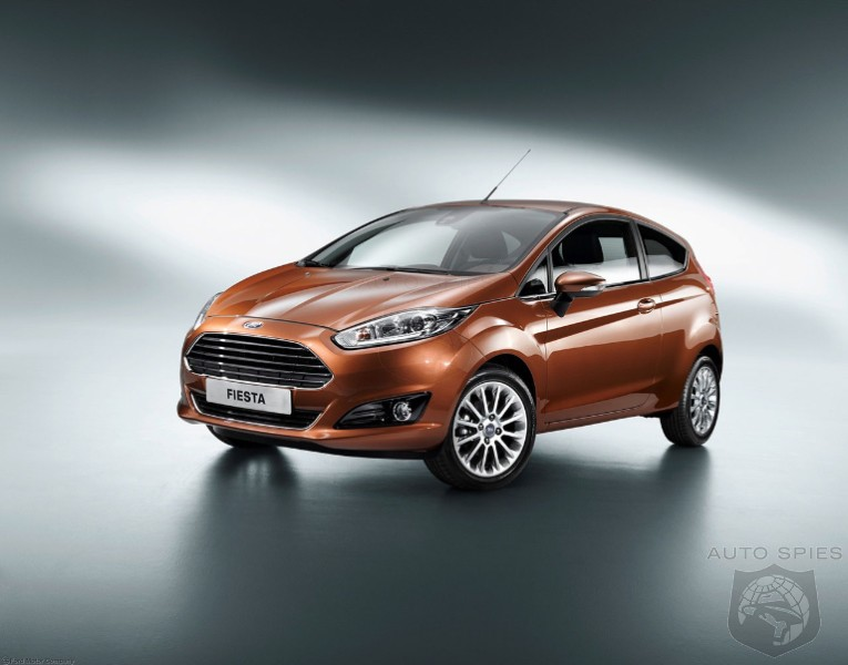 Ford Fiesta is the best-selling small car in Europe