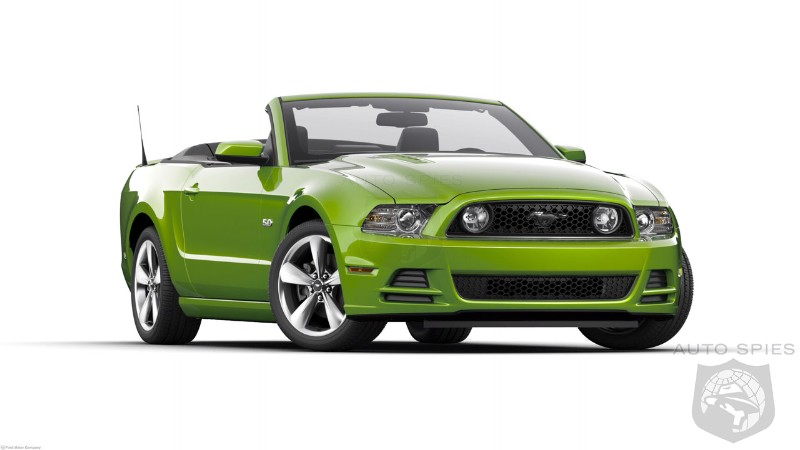 2014 Ford Mustang US pricing announced
